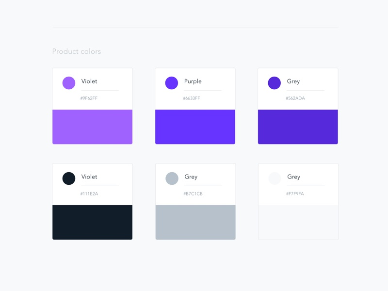Style Guide App • Product Design android ios app typography colors design product ux style guide