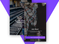 Sense App - Onboarding UI