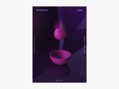 Item 2:004 art poster photoshop mittagszeit liquify illustrator illustration dimension adobe abstract