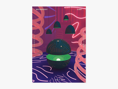 Item 2:007 design art poster dimension adobe mittagszeit photoshop abstract