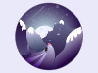 Cold Night Adventure Dribbble