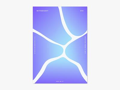 Item 014 splash adobe dimension mittagszeit illustration illustrator liquify photoshop abstract poster