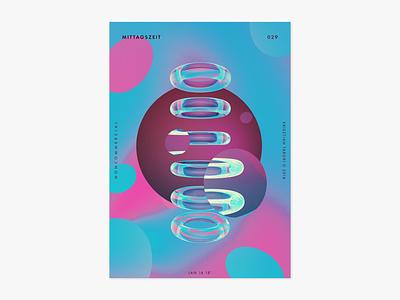 Item 029 art 3d splash adobe dimension mittagszeit illustration illustrator liquify photoshop abstract poster