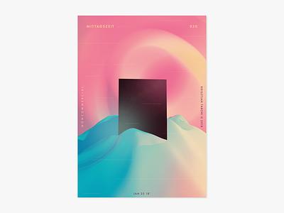 Item 030 art 3d splash adobe dimension mittagszeit illustration illustrator liquify photoshop abstract poster