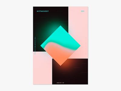 Item 031 splash poster photoshop mittagszeit liquify illustrator illustration dimension adobe abstract
