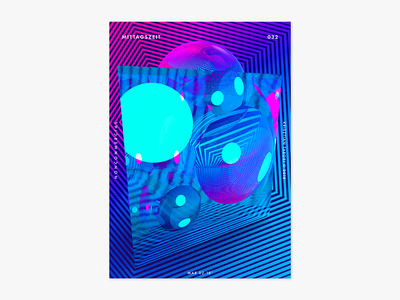 Item 032 splash poster photoshop mittagszeit liquify illustrator illustration dimension adobe abstract