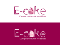 Dribbble E Cake