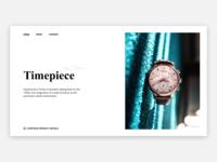 Minimal Watch Page