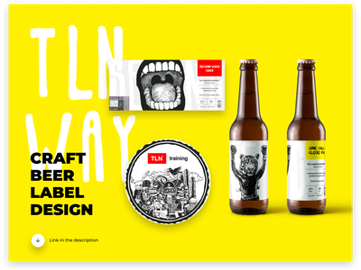 Craft Beer Label Design / project on behance vector illustration photoshop digital branding beer branding label beer label behance beer project figma