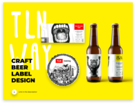 Craft Beer Label Design / project on behance