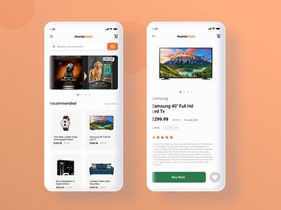 E-commerce App Design ecommerce app app design uiux figma design figma ui  ux design dailyui ux design ui