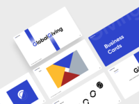 Global Giving Brand  Identity social business global logodesign logotype branding and identity case study brand identity brand design branding app minimal ui afterglow clean