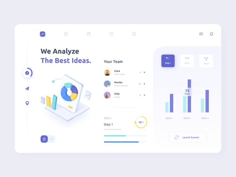 Analytics Dashboard goals statistics graphics charts analytics chart analytics branding illustrations dashboard mobile minimal ui illustration afterglow clean