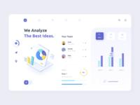 Analytics Dashboard goals statistics graphics charts analytics chart analytics branding illustrations dashboard mobile minimal ui illustration afterglow clean
