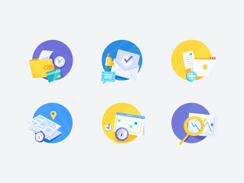 Analytic Icons Pack mobile dashboad analyse finance local search mail schedule icon design icon set icons minimal branding logo design ui illustration clean analytic