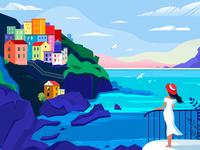 Maranola Italy - Illustration