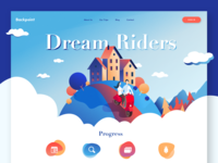 Dream Riders - homepage