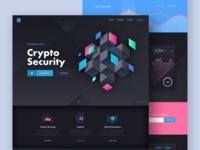 Cripto Security - landing