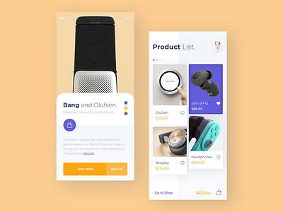 App Store app app store clean minimal app concept product beoplay store headphones