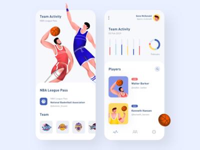 NBA Statistics App