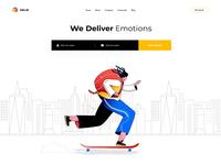 Delir Homepage