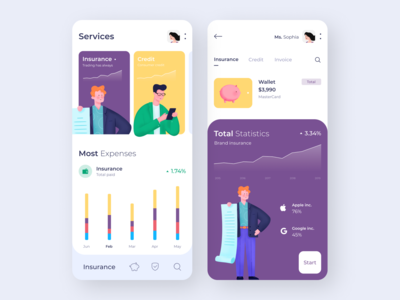 Mobile app - Payment Services