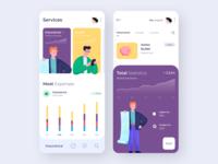 Mobile app - Payment Services