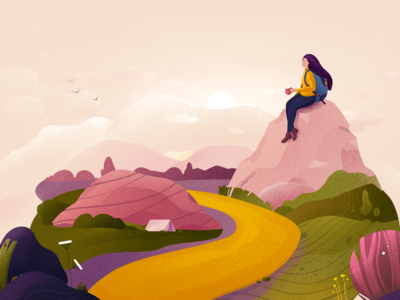Illustration - Road