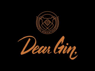 Dear Gin Branding