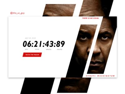 Countdown Page UI