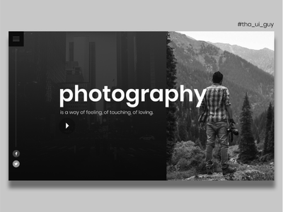 Portfolio Homepage website web design webdesign typography template simple profile portfolio minimal layout clean bootstrap