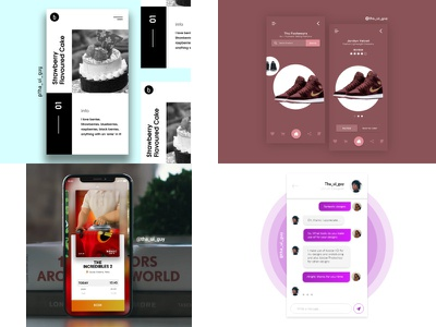 2018 Tops4Shots ui design web design dribbble app ui design ui