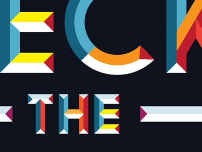 Faceted type type typography
