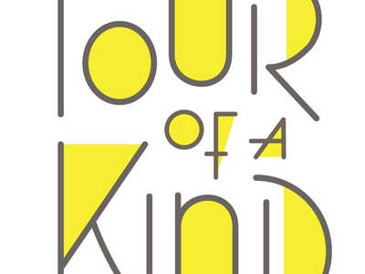 Four of a Kind type typography