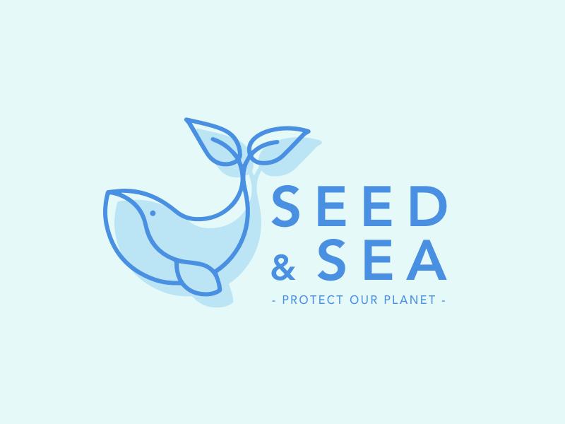 Logo | Seed & Sea logotype branding identity minimal environment logo