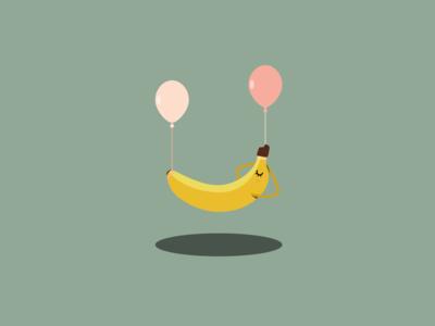 Illustration | Chillin' Banana
