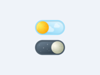 Toggle button   Day vs Night 🌗 [05/30]