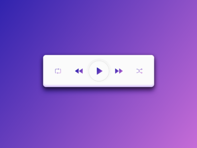 App | Music player 🎵 [10/30] minimalism sketchapp vector illustration flat julie charrier player music app ui daily creative challenge