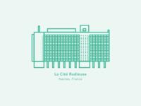 Illustration | La Cité Radieuse 🏢