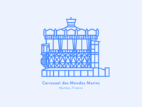 Illustration | Carousel of the Sea World 🎠