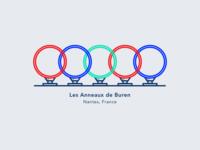Illustration | Rings by Buren ⭕️