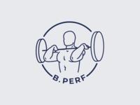 Logo | B.Perf 🏋🏻♂️