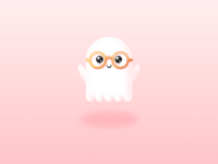 Illustration   Brainy Ghost 👻