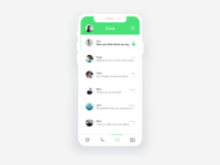 App | WhatsApp Redesign Concept 💬