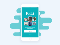 App | Vinted Redesign Concept 👕