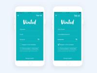App | Vinted (Sign up) 👕