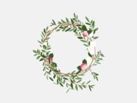 Illustration | Crown of flowers 💐