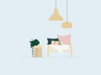 Illustration | Sofa