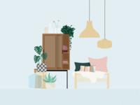 Illustration | Interior design