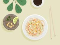 Illustration | Pad thaï 🍲